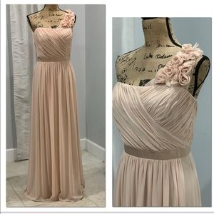 Dessy Collection Vivian Diamond gown size 12